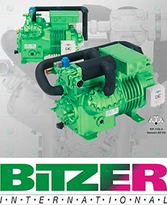 Bitzer Compressor Semi Hermetic